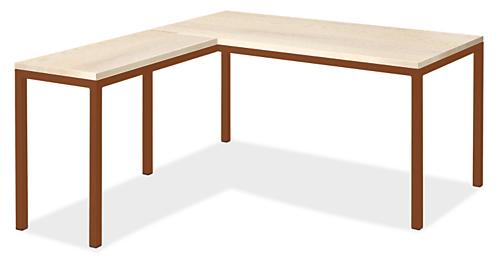 Pratt L-Shaped Desk 72w 36d 29h with 36w 18d Return
