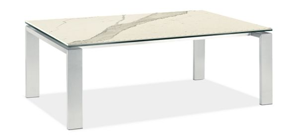 Rand Coffee Table In Stainless Steel