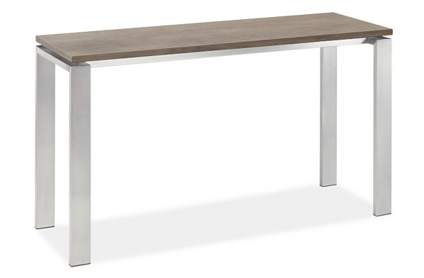 Rand Console Table in Stainless Steel