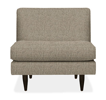 Reese Armless Chair - Modern Accent & Lounge Chairs - Modern ...