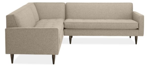 "Reese 98x98"" Three-Piece Sectional with Corner"