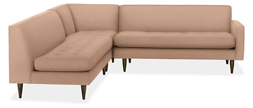 """Reese 99x98"""" Three-Piece Sectional with Right-Arm Sofa"""