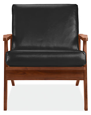 Sanna Chair in Urbino Leather - Modern Accent & Lounge Chairs ...