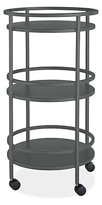 Slim 20 diam 36h Round Bar Cart