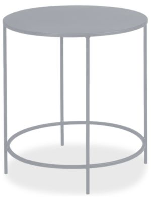 Slim 25 diam 24h Round End Table