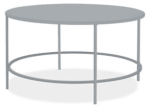 Slim 30 diam 16h Round Outdoor Coffee Table