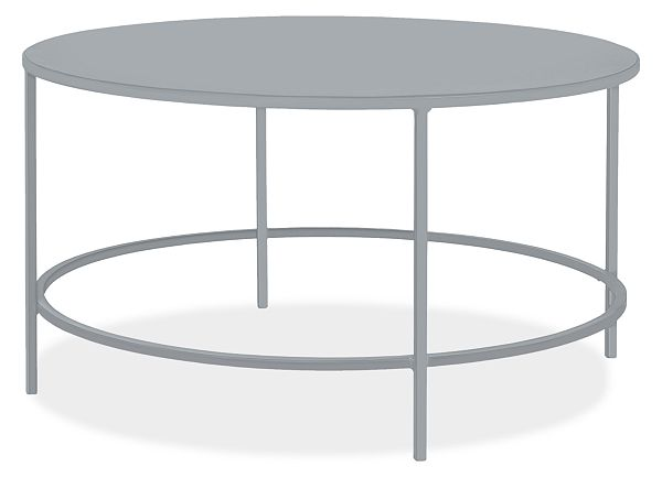 Slim Outdoor Round Coffee Table