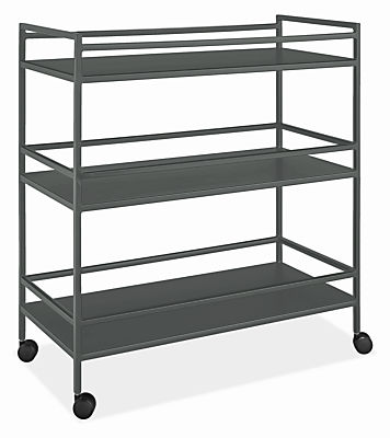 Slim 34w 16d 36h Bar Cart