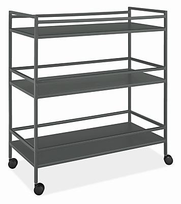 Slim 34w 16d 36h Bar Cart