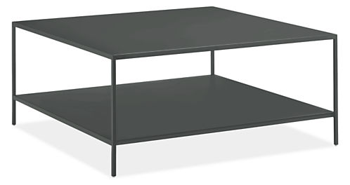 Slim 36w 36d 16h Square Outdoor Coffee Table