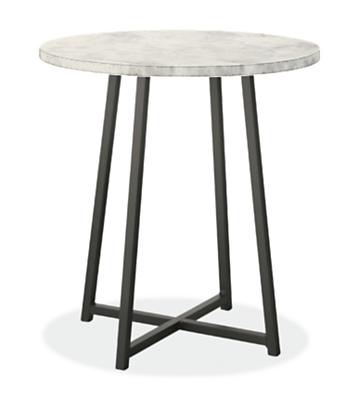 end table for living room. Slope End Tables in Natural Steel  Modern Living Room Furniture Board