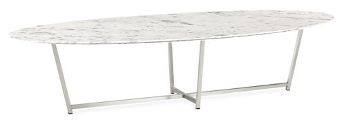 Soto 60w 24d 14h Oval Coffee Table