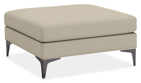 Sterling Custom 34w 34d 18h Square Ottoman