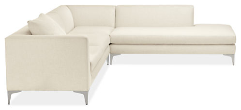 """Sterling Custom 106x102"""" Sectional with Left-Back Sofa"""