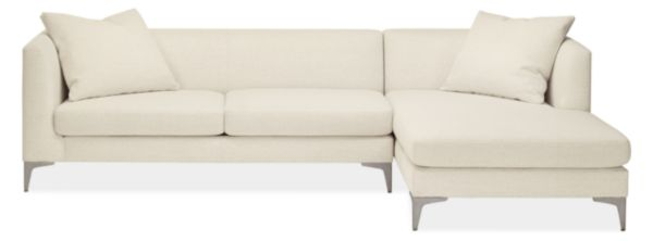 "Sterling Custom 110"" Sofa with Right-Arm Chaise"