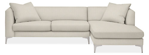 "Sterling 110"" Sofa with Right-Arm Chaise"