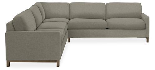"Stevens 113x113"" Three-Piece Sectional"