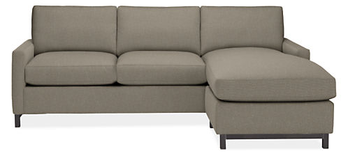 "Stevens Custom 91"" Sofa with Reversible Chaise"