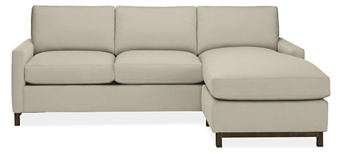 """Stevens 91"""" Sofa with Reversible Chaise"""