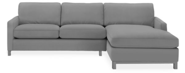 "Stevens Custom 106"" Sofa with Left-Arm Chaise"