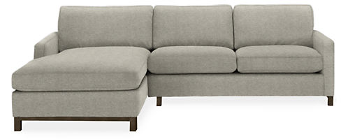 "Stevens 106"" Sofa with Left-Arm Chaise"