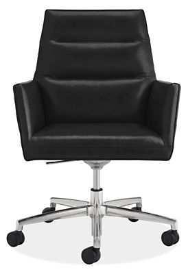 Tenley Leather Office Chair - Modern Office Chairs & Task Chairs ...