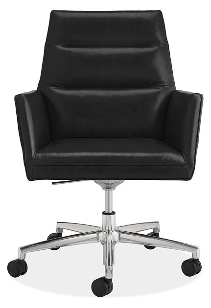Tenley Leather Office Chair