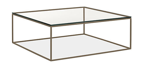 Tyne 40w 40d 15h Square Coffee Table