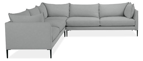 "Palm 112x112"" Three-Piece Sectional"