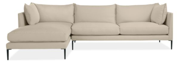 "Palm 115"" Sofa with Left-Arm Chaise"