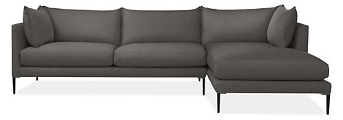 "Palm 115"" Sofa with Right-Arm Chaise"
