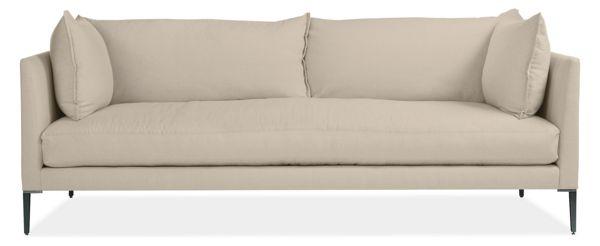 "Palm 84"" Bench-Cushion Sofa"