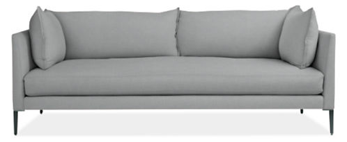 "Palm 84"" Bench-Cushion Sofa"