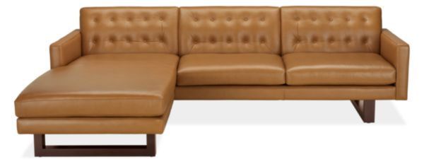 "Wells 101"" Sofa with Left-Arm Chaise"