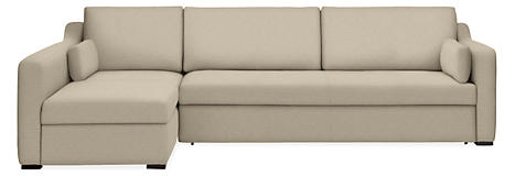 Whitman Pop Up Platform Sleeper Sofas With Chaise