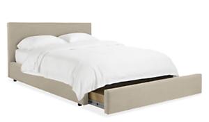 Wyatt Custom Queen Storage Bed