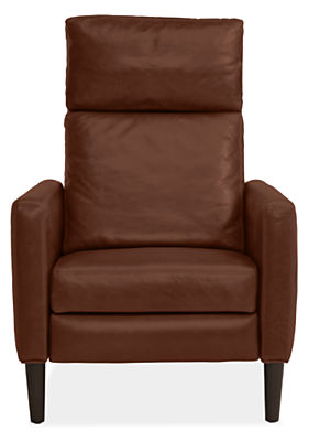 Wynton Recliner in Lecco Leather - Modern Recliners & Lounge Chairs ...