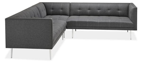 "Wynwood Custom 99x 99"" Three-Piece Sectional Fabric"