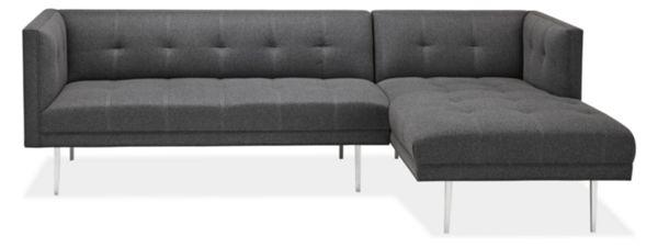"Wynwood Custom 100"" Sofa with Left-Arm Chaise"