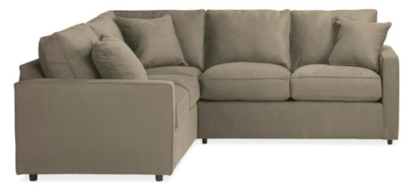 "York 93x93"" Three-Piece Sectional"