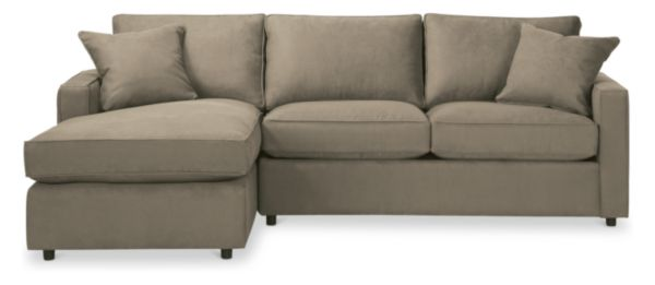 """York 105"""" Guest Select Full Sleeper Sofa with Left-Arm Chaise"""