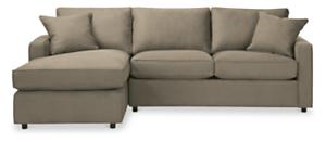 """York Custom 95"""" Sofa with Left-Arm Chaise"""