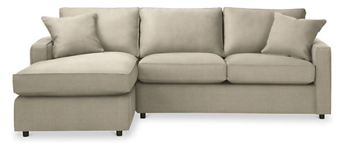 "York 95"" Sofa with Left-Arm Chaise"