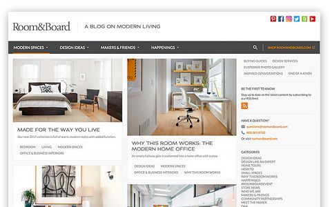 Office Design Ideas - Business Interiors - Room & Board