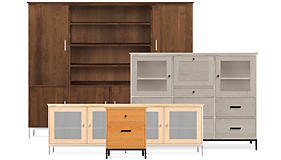 Linear Modular Cabinet Bedroom Storage - Room & Board