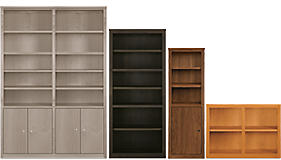woodwind custom bookcases - How Much For Built In Bookshelves