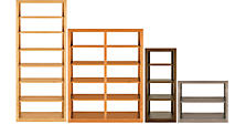 Woodwind Open-Back Custom Bookcases