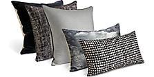 Grey & Black Pillows