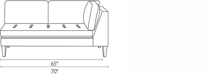Right-Arm Sofa