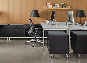 Modern Office Storage - Room & Board